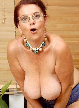 eine sexy Oma